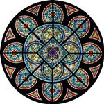 Grisaille Rose Window