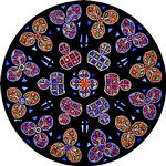 Blue Rose Window