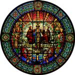 Madonna Rose Window