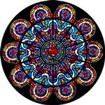 Heart Rose Window